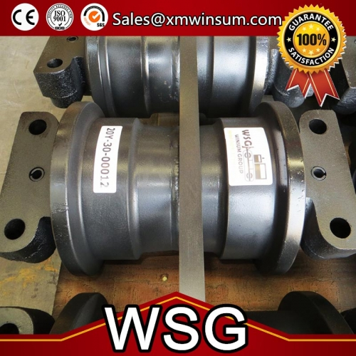 Komatsu PC200-7 PC200-8 Excavator Track Bottom Roller | WSG Machinery
