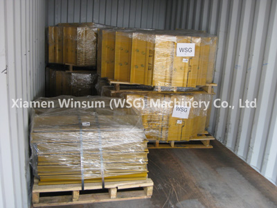 Loading Container For WSG Track Roller And Track Shoe