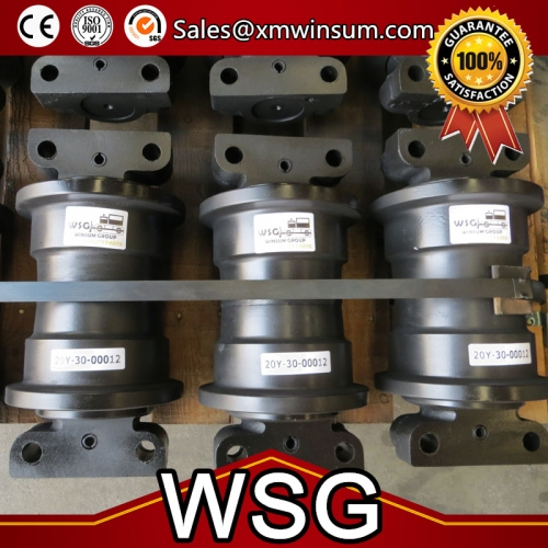 Yanmar Excavator Parts YM55 YM75 Track Bottom Roller | WSG Machinery