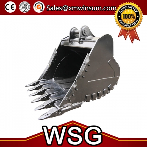 Ground Engaging Tools Excavator Rock Bucket For CAT E305 Parts